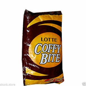 100 Lotte Coffy Bite Coffee Flavoured Candies Rich Coffee Creamy Toffee 405gm