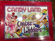 Candy Land Chutes and Ladders Hasbro 2001 Board Games ~ Rare Used