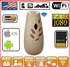 1080P Full HD Hidden Motion Detection Spy Nanny Camera Air Freshener Audio
