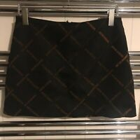 Ladies Urban Outfitters 'Never Ending' Black Aline Skirt Size MEDIUM