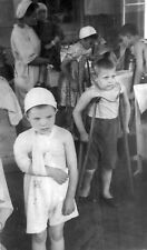 WW2  Photo WWII Wounded Russian Children Leningrad  1942  World War Two / 1652