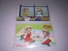 """ Hidamari Sketch "" Not sale in store Phone Card / Telephone Card Lot of 2"
