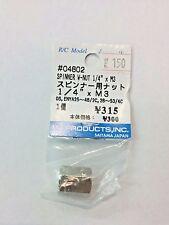 "IM Products, Inc. Spinner W-Nut 1/4"" x M3 - 04802"