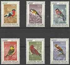 Timbres Oiseaux Yougoslavie 1177/82 ** lot 20171