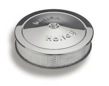 """Holley 120-102 14"""" X 3"""" Chrome Round Air Cleaner"""