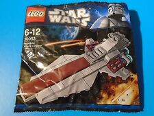 Lego 3005 Star Wars Republic Attack Cruiser Brand New in Sealed Polybag
