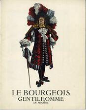 *Dossier de presse illustré Le Bourgeois Gentilhomme Comédie Française