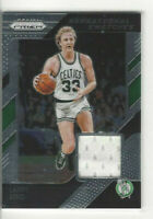 2018-19 Panini Prizm Sensational Swatches Larry Bird #53 HOF