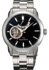 ORIENT STAR Open Heart Power Reserve Black Dial Elegant Dress Watch SDA02002B