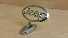 JEEP Wrangler Grand Cherokee Renegade CRD Chrome Bonnet Badge Emblem accessories