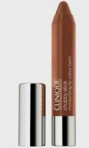 Clinique Chubby Stick Moisturizing Lip Colour Balm 09 Heaping Hazelnut  -NIB