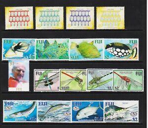 Fiji - 5 Mint, NH sets from 2005, cat. $ 36.75
