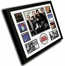 COLD CHISEL JIMMY BARNES SIGNED LIMITED EDITION FRAMED MEMORABILI