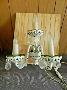 Porcelain  Candlestick Wall Mounted BRA  Used