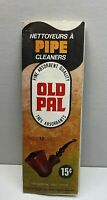 Vintage Old Pal Pipe Cleaners Packaging With Contents