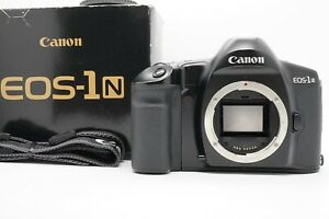 [Almost UNUSED] Canon EOS-1N 35mm SLR Film Camera Body From Japan
