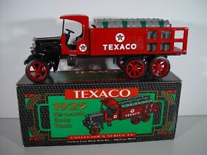 ERTL #9 Texaco 1925 Kenworth Stake Truck 1/25 Diecast Coin Bank Mint in Box