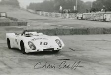 Chris Craft Hand Signed Le Mans 12x8 Photo 5.