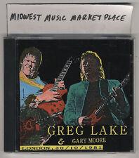 Greg Lake & Gary Moore - U.K. 1980 - Rare Import CD - Near-MINT  ELP Thin Lizzy