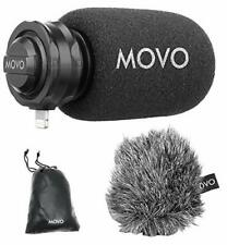 Movo LPM100 Directional Stereo Cardioid Microphone for iOS Lightning Connector