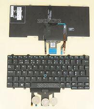 FOR Dell Latitude E5450 E7450 Keyboard Portuguese Teclado Backlit with pointer