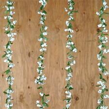 6 White BABY BREATH Silk Greenery GARLANDS Filler Wedding Party Home Decorations