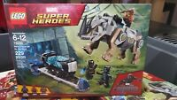 Lego Marvel Super Heroes Black Panther Rhino Face Off By The Mine 76099