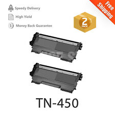 2 NEW TN450 NON-OEM TONER FOR BROTHER 7460DN 7860DW PRINTER DCP-7065DN MFC-7360N