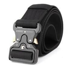Adjustable Mens Military Tactical Gun Belt Buckle Combat Waistband