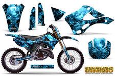 KAWASAKI KX125 KX250 99-02 GRAPHICS KIT CREATORX DECALS INFERNO BLINP