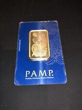 Pamp Suisse Fortuna 1 oz Gold Bar | Sealed In Assay