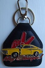 Chrysler Valiant Charger Mopar Hey Charger  Leather Key fob.  G021001F