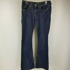 No Boundaries NOBO Womens Jeans Size 11 Boot Cut Stretch Medium Wash Low Rise