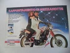 advertising Pubblicità 1984 MOTO YAMAHA XT 600 4 VALVES