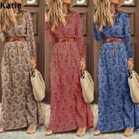 Womens sexy Skinny Party Beach Ladies Long Dresses Loose Maxi Wrap Dresses