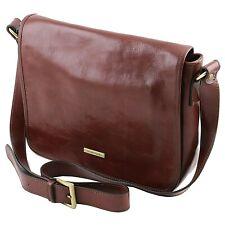 Tuscany Leather TL MESSENGER One Compartment Genuine leather Shoulder Bag Medium