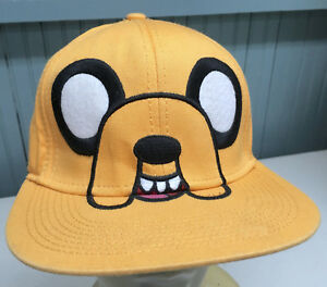 Adventure Time Finn Jake Cartoon Network Youth / Small Snapback Baseball Cap Hat