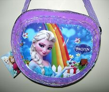 New FROZEN Girls Shoulder Bag - Oval 25 x 21 x 8cm
