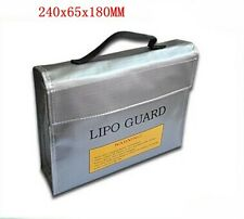 Rc Lipo Li-po Battery Fireproof Safety Guard Safe Bag Charging Sack    US VENDOR