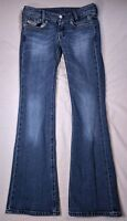 "Diesel Louvely 008LA_Stretch Medium Wash Bootcut Jeans Size 27 29"" Inseam"