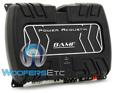 POWER ACOUSTIK BAMF4-1200 4-CHANNEL 1200W COMPONENT SPEAKERS TWEETERS AMPLIFIER