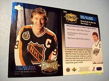 """You-Pick""...1995-96 Upper Deck (Wayne Gretzky) ""Record Collection"" Tribute SPs!"