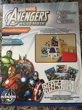 Marvel Avengers Assemble RoomScapes Wall Decal, Poster, Coloring Sheets NEW