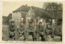 *WWII photo- 80th Infantry Division- ID'D US GIs-  GROUP SHOT -BAMBERG Germany*