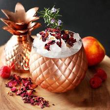 Kitchenware Pineapple Bar Cocktail Mug Tumbler Goblet Cup 350ml Rose Gold