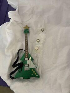 "Hallmark Guitar Ornament 2011   ""Rockin' Around the Christmas Tree""  New In Box"