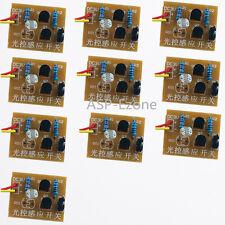 10pcs DIY Kit Light-Control Sensor Switch Suite For DIY Electronic Trainning