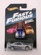 Hotwheels 2 Fast & 2 Furious Nissan Skyline GT-R R34 *Paul Walker *US carded