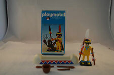Playmobil 3352 Western indian with accessoires Klicky 1 OVP v,n mint in box
