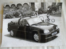 Opel Kadett Cabrio 2.0 GSi press photo 1990